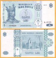 2013  Moldova ; Moldavie ; Moldau    5 LEI   309008 - Moldavia