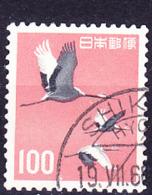Japan - Graue Kraniche (Grus Grus Lilfordi) (MiNr: 764) 1963 - Gest Used Obl - 1926-89 Emperor Hirohito (Showa Era)
