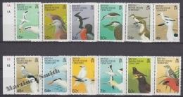 British Indian Ocean 1990 Yvert 94- 105, Definitive, Birds - MNH - Brits Indische Oceaanterritorium