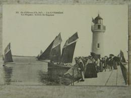ILE D' OLERON    LA COTINIERE           LES REGATES   ARRIVEE DU GAGNANT - Ile D'Oléron