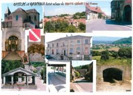 Format Spécial - 210 X 150 Mms - 70 - Oiselay Et Grachaux - Multivues - Etat Froissures Visibles - Frais Spécifique En R - Other Municipalities