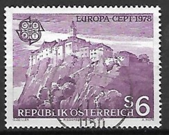 AUTRICHE   -  1978 .  Y&T N° 1402 Oblitéré.   EUROPA  /  Chateau De Riegersburg. - 1971-80 Used