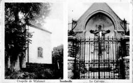 CHAPELLE DE WALCOURT ,LE CALVAIRE ,SOMBREFFE,AFFRANCHISSEMENT REF 61530 - Sombreffe