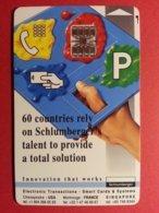 TEST SCHLUMBERGER TOTAL SOLUTION SC7 Chargée 30u DEMO Liban (BF1217 - Herkunft Unbekannt