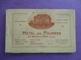 CARNET DE 12 CPA 44 LA BAULE LES PINS HOTEL DES PALMIERS - La Baule-Escoublac