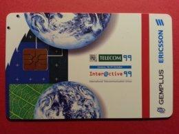 DEMO TEST GEMPLUS ERICSSON TELECOM 99 Geneva INTERACTIVE (BF1217 - Herkunft Unbekannt