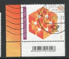 Duitsland, Mi 3497 Jaar 2019, Hoekblok, Prachtig Gestempeld - [7] République Fédérale