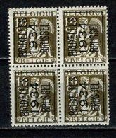Belg. 1934 -  OBP/COB PRE 4 X 284 A** Bruxelles / 1934 / Brussel - MNH (2 Scans) - Typo Precancels 1932-36 (Ceres And Mercurius)