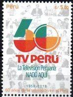 """Peru 2019 ** 60 Años De La Televisión En El País. """"La TV Peruana Nació Aquí"""" - Perù"""