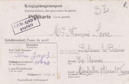 KRIEGSGEFANGENENPOST. POSTKARTE. 25 1 42. FELDPOST N° 12431 A  / 2 - Deutschland