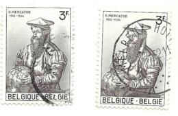1962 - Belgio 1213 Nascita Del Mercator       C3814 - Celebrità