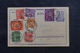 ALLEMAGNE - Entier Postal + Compléments De Stuttgart En 1923, Période Inflation - L 46195 - Ganzsachen