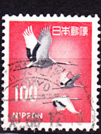 Japan - Mandschuren-Kraniche (Grus Japonensis) (MiNr: 1007) 1968 - Gest Used Obl - 1926-89 Emperor Hirohito (Showa Era)