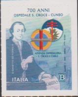 ITALY, 2019, MNH, 700 YEARS OF S. CROCE- CUNEO HOSPITAL, HEALTH, 1v - Health