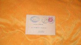 PETITE ENVELOPPE ANCIENNE DE 1944.../ LEONCE JARRIAND NOTAIRE PARIS POUR CHARENTON..CACHETS + TIMBRE - Marcophilie (Lettres)