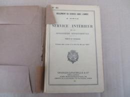 Service Intérieur De La Gendarmerie Départementale - 52/01 - Andere
