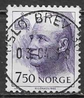 Norway 1995. Scott #1016 (U) King Harald - Gebruikt