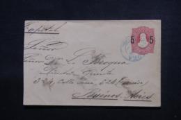 ARGENTINE - Entier Postal ( Retaillé à Gauche ) Pour Buenos Aires En 1890 - L 46198 - Ganzsachen