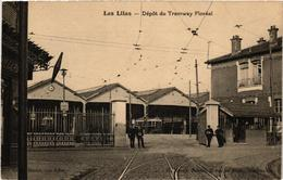 CPA LES LILAS Depot Du Tramway Floreal. (509581) - Les Lilas