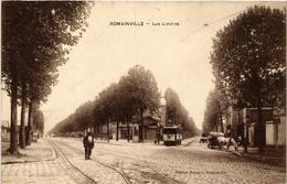 CPA ROMAINVILLE Les Limites. (509644) - Romainville