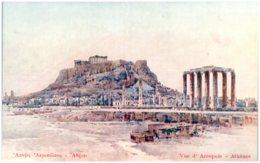 ATHENES - Vue De L'Acropole - Griechenland