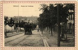 CPA SCEAUX Route De FONTENAY (509739) - Sceaux