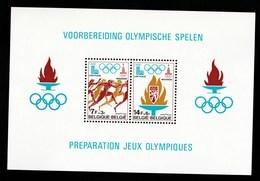 Belgique - Bloc Cob N° 53 Jeux Olympique Neuf XX - Blocs 1962-....