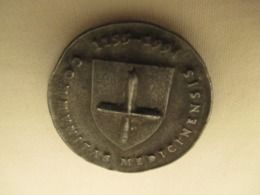 Medaille  A Identifier : Fredericus I Imperator 1155-1994  Diametre 30 Mm - Duitsland
