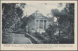Il Vestibolo Delle Terme Di Santa Venera, Acireale, C.1910s - Grand Hôtel Des Bains Cartolina - Acireale