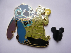 Big Pin S Disney STITCH DRAGON 4,5 X 4,5  Cm EDITION LIMITEE 1000 Ex Tbq - Disney