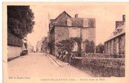 CERISY BELLE ETOILE ARRIVEE  ROUTE DE FLERS - Andere Gemeenten