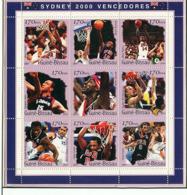Guinea - Bissau 2001 - Basket. Michel 1297-1305 - Guinea-Bissau