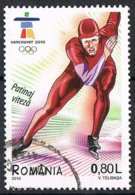 2010 - ROMANIA - GIOCHI OLIMPICI INVERNALI DI VANCOUVER / WINTER OLYMPIC GAMES OF VANCOUVER.USATO - 1948-.... Repúblicas