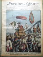 La Domenica Del Corriere 8 Maggio 1932 Orologio Mille Principio Archimede Cesare - Libri, Riviste, Fumetti