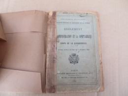 Règlement Sur L'Administration Et La Comptabilité Des Corps De La Gendarmerie - 05/01 - Andere