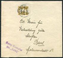 "Switzerland Stationery Wrapper Bern. Beleg Exemplar Des ""BUND"" - Basel - Stamped Stationery"