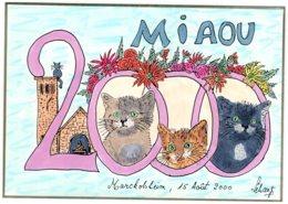 B60177 CPM  Illustrateur Schangi , Meilleurs Voeux Pour L'an 2000 - Illustrators & Photographers