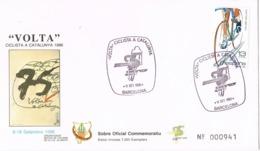 34531. Carta BARCELONA 1986. 75 Volta Ciclista Catalunya. Ciclismo - 1931-Today: 2nd Rep - ... Juan Carlos I