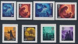 GREAT BRITAIN 2019 Christmas Stamp Set 8v** - 1952-.... (Elisabetta II)