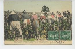 AGRICULTURE - VIGNES - VENDANGES ET TRAVAIL DU VIN EN CHAMPAGNE - Un Hordon - Wijnbouw