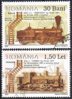 2006 - ROMANIA - TRENO / TRAIN. USATO - 1948-.... Repúblicas