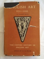 English Art. Volume II : 871 - 1100 By D. Talbot Rice - Histoire De L'Art Et Critique