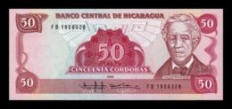 Nicaragua 50 Córdobas José Dolores Estrada 1985 Pick 153 SC UNC - Nicaragua