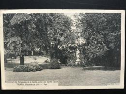 CPA Du 20 Novembre 1910 Pensionnat Des Religieuses De La Sainte Union Des Sacrés Cœurs Tournai Chaussée De Lille Parc - Tournai