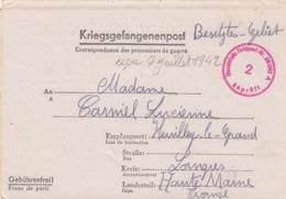 KRIEGSGEFANGENENPOST. FELDPOST N° 28092 A. 14 6 42 / 7 7 42   /  2 - Deutschland