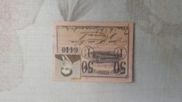 ANTIQUE PORTUGAL SEASON TICKET PASSE CARRIS DE FERRO DE LISBOA 1ª CLASSE 1950 - Wochen- U. Monatsausweise