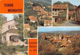 "5830""TORRE MONDOVI'-FRAZIONE ROATTA M. 700""4 VEDUTE-CART. POST. ORIG. NON SPED. - Italien"