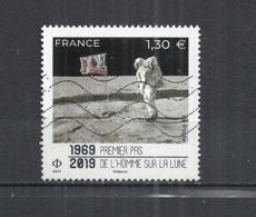 FRANCE 2019 - FIRST MAN ON THE MOON - USED OBLITERE GESTEMPELT USADO - Frankrijk