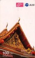 TAILANDIA. Thai Temple (Paper) -04. 2644. 06/2008. TH-12Call-1181. (062) - Tailandia
