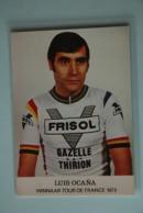 CYCLISME: CYCLISTE : LUIS OCANA - Ciclismo